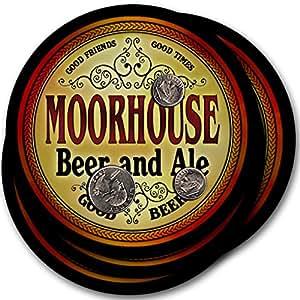 Moorhouse Beer & Ale - 4 pack Drink Coasters