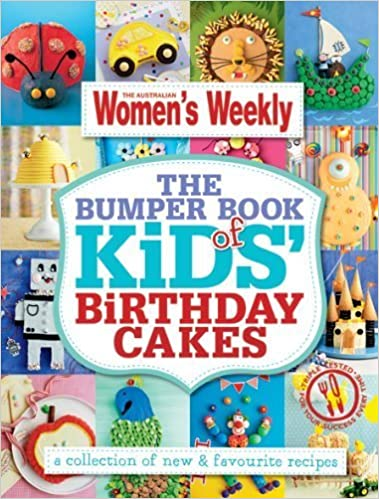 Astounding The Bumper Book Of Kids Birthday Cakes Hundreds Of Triple Tested Birthday Cards Printable Giouspongecafe Filternl