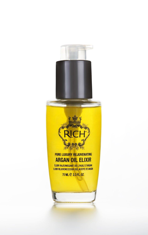 RICH Pure Luxury Rejuvenating Argan Oil Elixir 2.3 fl oz