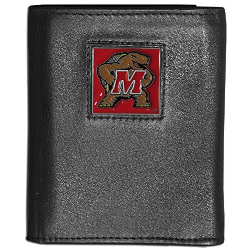 - Siskiyou NCAA Maryland Terrapins Deluxe Leather Tri-fold Wallet