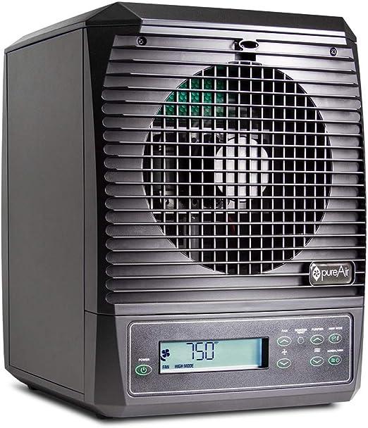 GreenTech Environmental Purificador de aire para toda la casa (destruye los alérgenos, los olores, el moho de las bacterias y el polvo con energía y control remoto ...