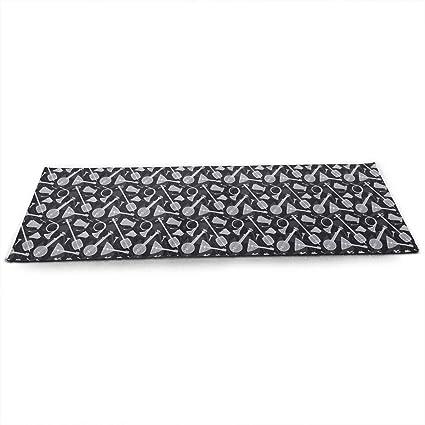 Amazon.com : TAOHJS76 Pro Non Slip Yoga Mat, Folk Musical ...