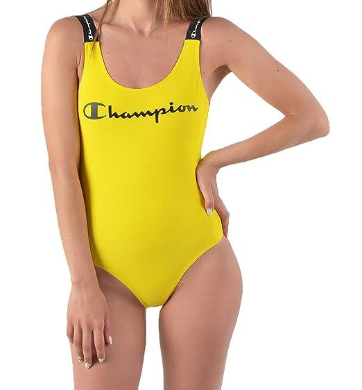 varios colores varios estilos estilo actualizado Champion Bañador Swimming Suit Rojo Mujer: Amazon.es: Ropa y ...