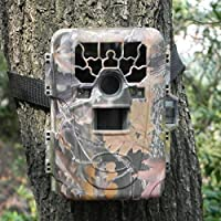 Gemtune HD Waterproof IP66 Infrared Night Vision Game Trail Hunting Scouting Ghost Camera Take 12MP Image 1080p Video From 75feet/23m Distance
