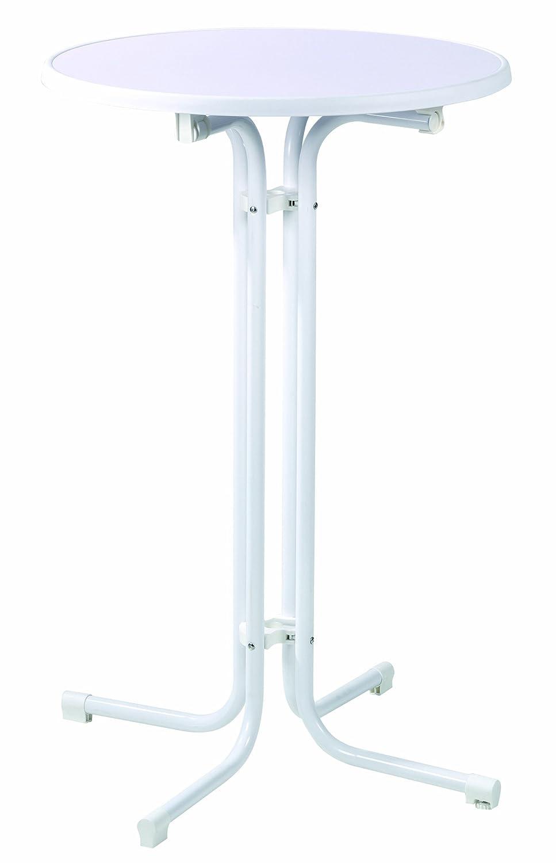 Oxid7 - Mesa alta plegable (70 x 110 cm, estructura de tubos de ...