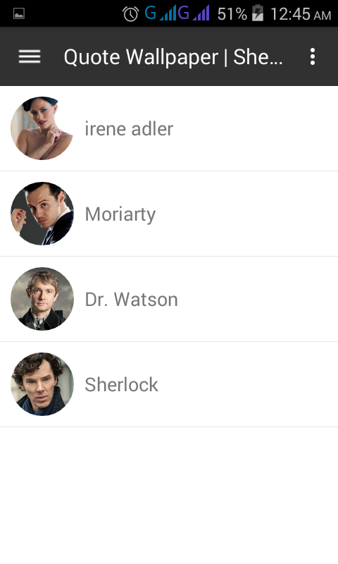 Quote Wallpaper Sherlock Amazones Appstore Para Android