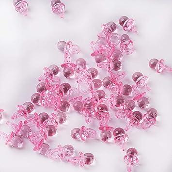 144 piezas Mini Chupete Confeti de dispersión de mesa para ...