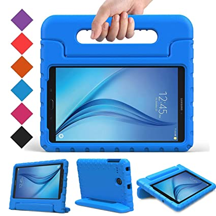 the best attitude 01b00 5bde4 BMOUO Kids Case for Samsung Galaxy Tab E 8.0 inch - EVA Shockproof Case  Light Weight Kids Case Super Protection Cover Handle Stand Case for Kids ...