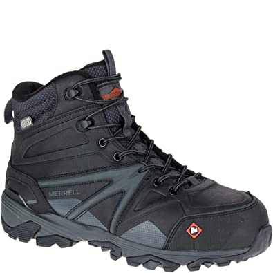 0c00a02684 Merrell Trailwork Mid Waterproof Comp Toe Work Boot
