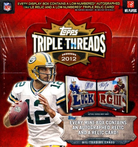 2012 Topps Triple Threads FootballボックスFactory Sealed趣味
