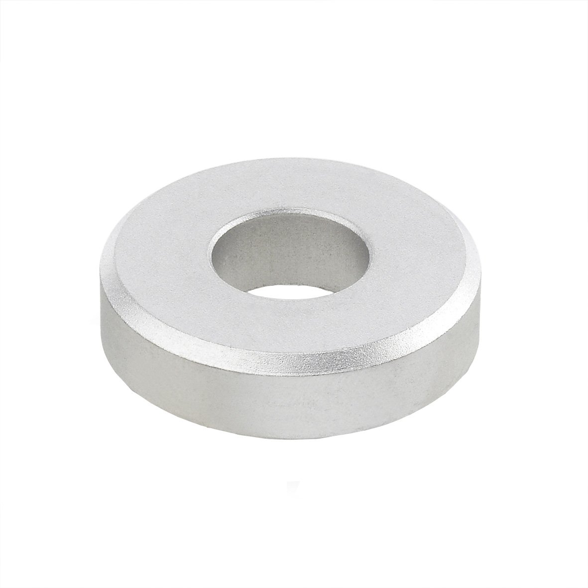 6 mm Bore J.W Stainless Steel 4 mm Thickness Winco 6341-NI-6-15-A-MT GN6341-NI Washer with Cylindrical Bore 15 mm OD