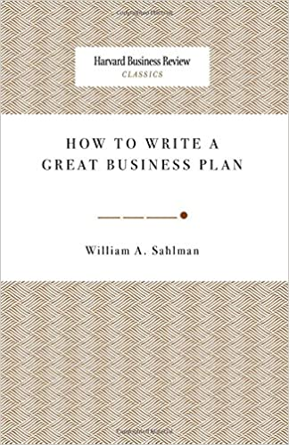 How to produce a business plan