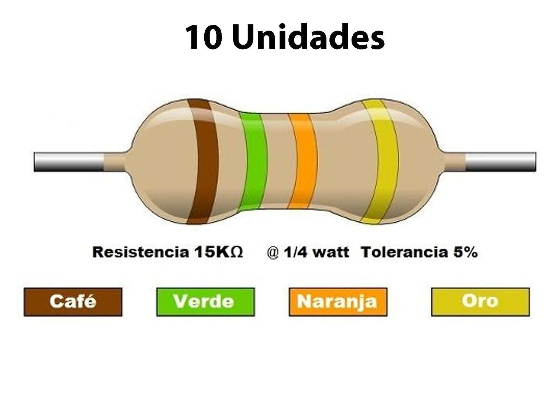100 Pcs 1W 1 Watt Metal óxido cine resistencias plomo axial 820K Ohm ± 5/% Tolerancia