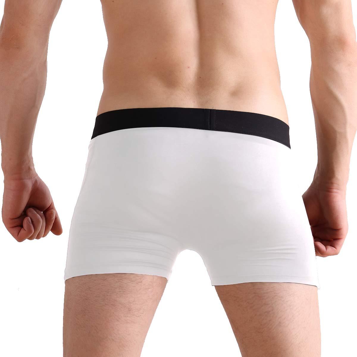 ZZKKO Mens Fashion Mandala Elephant Mens Underwear Boxer Briefs Breathable Multi