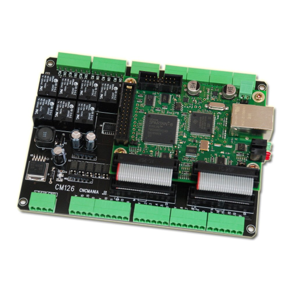 Mach3 Cnc Breakout Board Motion Controller Ethernet Smooth