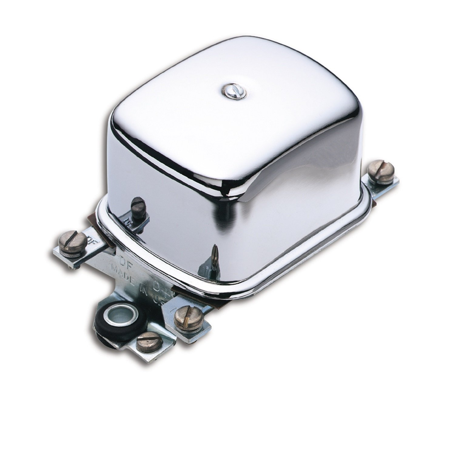 ACCEL 201107C Chrome Electro Mechanical Voltage Regulator by ACCEL