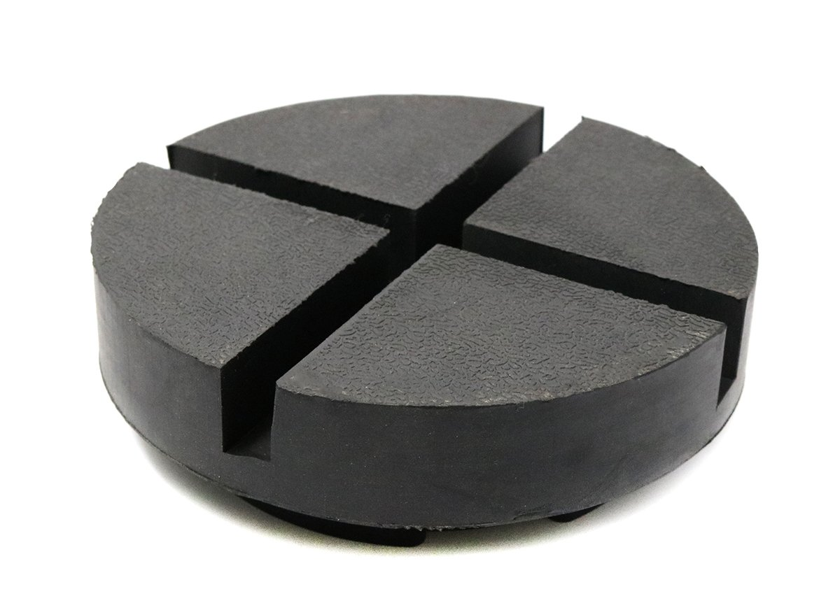 TMB Motorsports 1 Pack Extra Large Rubber Universal Floor Jack Pad Adapter by TMB Motorsports