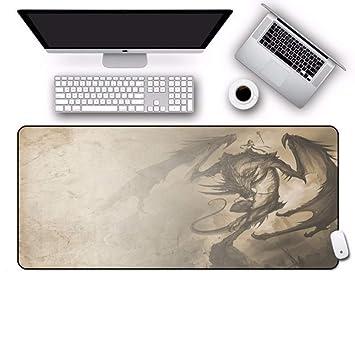 jasonding Cojín De Ratón del Juego Dragon Slayer Gaming Mousepad ...