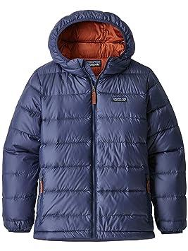 b86f61abb12 Patagonia Doudoune Baby Hi-Loft Down Sweater Hoody Classic Navy 3T