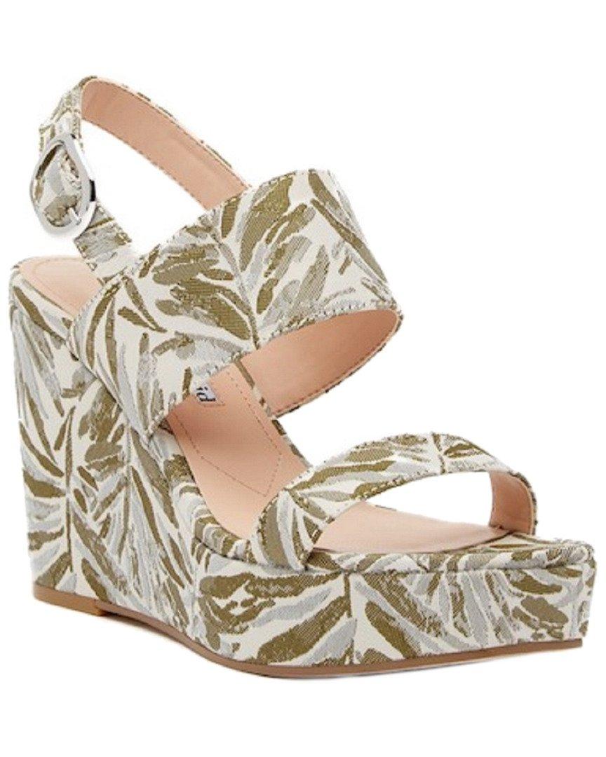 Charles David Women's Jordan Wedge Sandal, Green/Multi, 6 M US