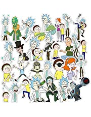 american Drama Rick and Morty trendy Sci-fi animation Image Stickers sun protection and waterproof