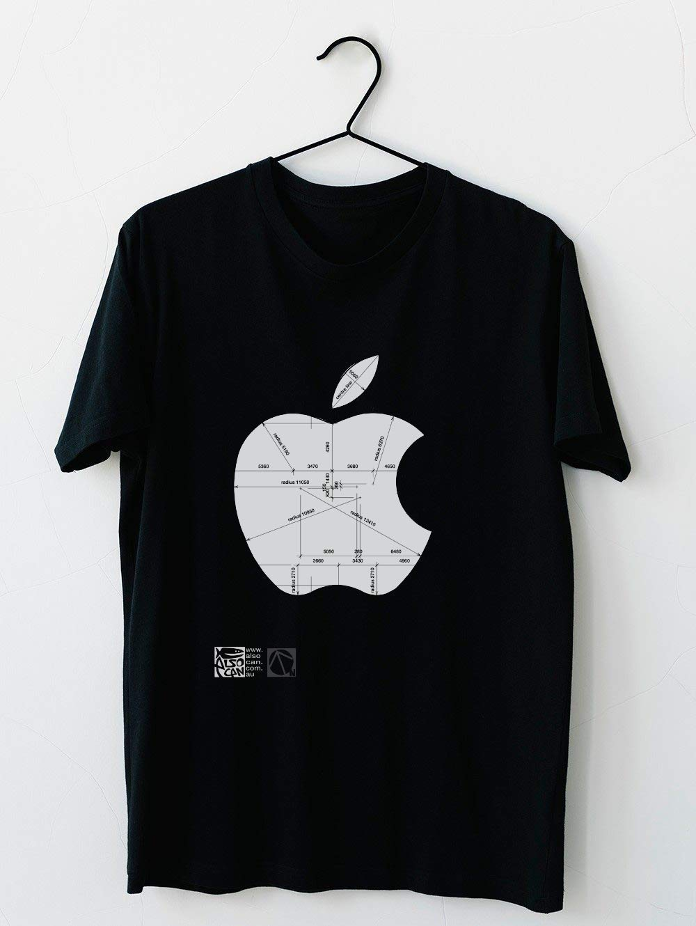 Apple Construction Disions 72 T Shirt For Unisex