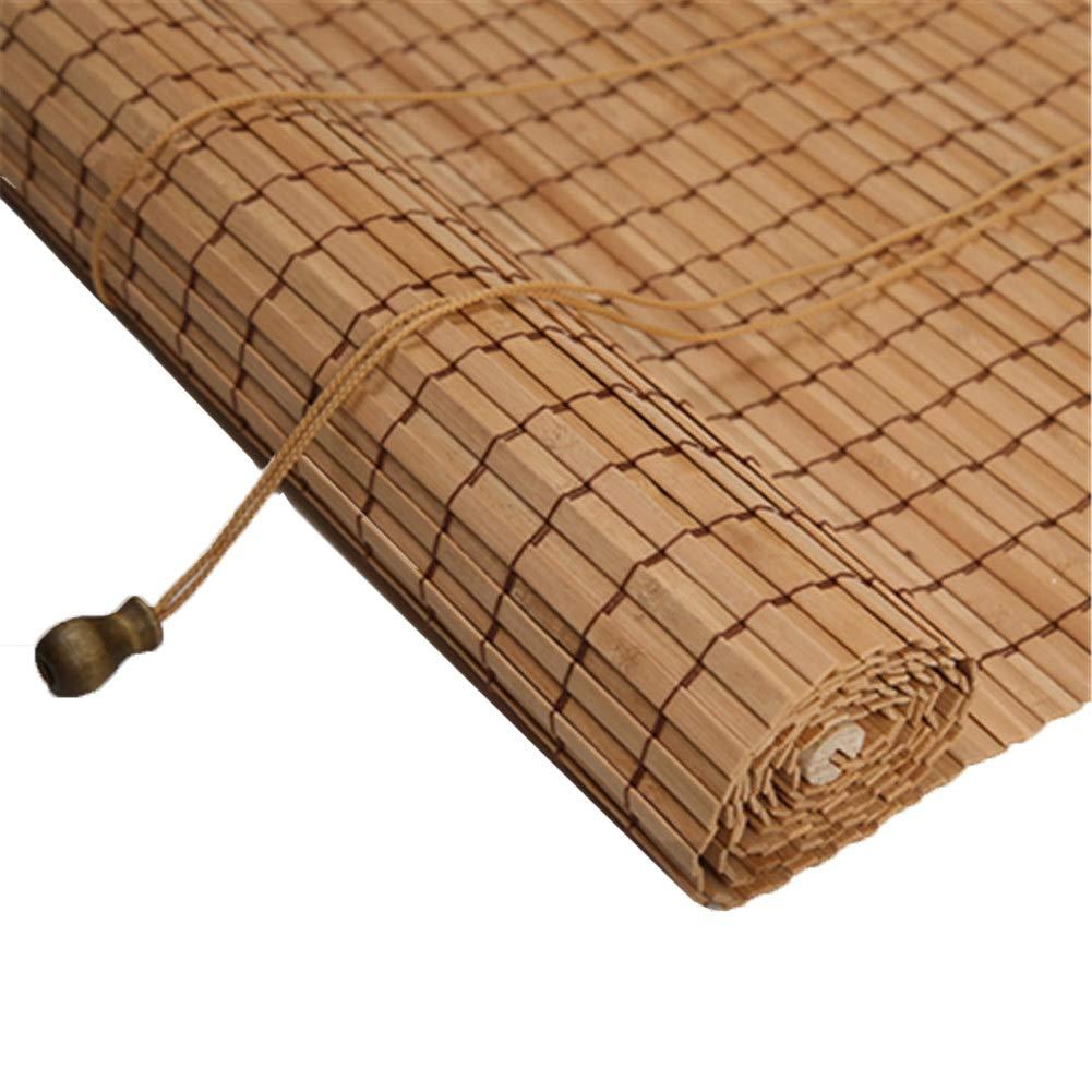 パンダの故郷の竹シャッター、屋内と屋外のリビングルームのベッドルームに適した垂直方向の遮光ブラインド (版 ばん : Wave, サイズ さいず : 100x160cm) B07QMQVPDY
