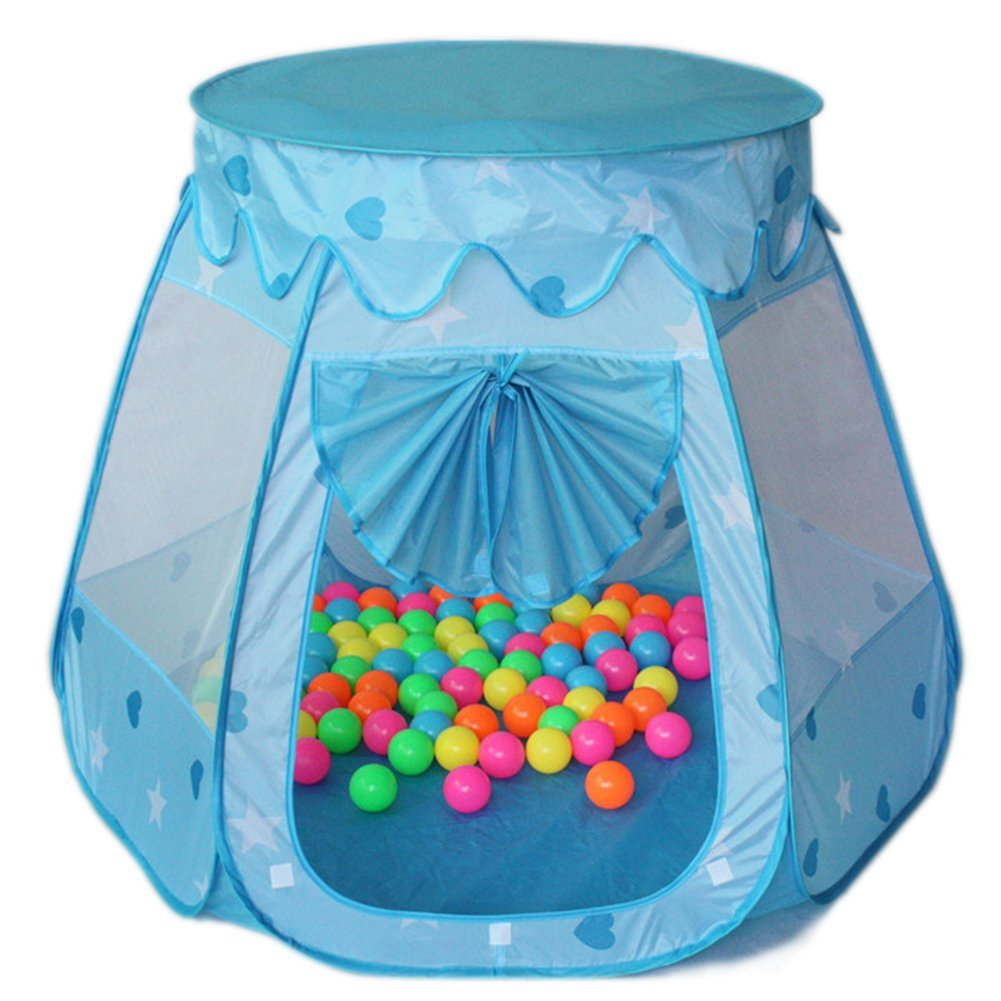 Amazon Amtinyjoy Children Toys 1 Year Kids Tents 2 Old Girl Blue Toy For Play Games Balls Not Included