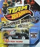 Team Hot Wheels High-Speed Wheels Pikes Peak Tacoma Black by Mattel