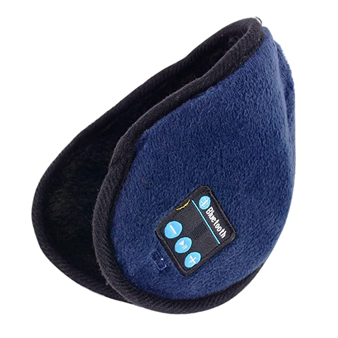 MORESAVE - Auriculares inalámbricos de invierno para adultos, Bluetooth, orejeras cálidas: Amazon.es: Ropa y accesorios