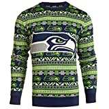 SEATTLE SEAHAWKS 2016 AZTEC PRINT UGLY CREW NECK SWEATER