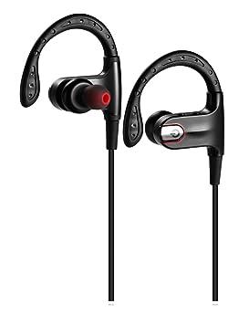 Auriculares Bluetooth, shareconn ligero inalámbrico sports auricular Bluetooth 4.0 auriculares con micrófono hd estéreo cancelación