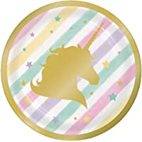 Unicorn Birthday Party Plates - 7 inches / 6 pcs per pack