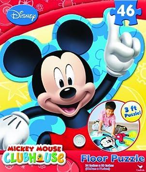 Cardinal Mickey 3 inch Floor Puzzle 24*36 Inch (46 Pieces)
