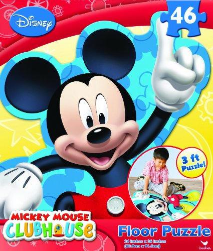 Mickey Club House Floor Puzzle, ()