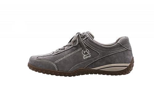 grande remise choisir l'original Gabor Comfort Femme Sneaker 86.398.69 Gris Graphite: Amazon ...