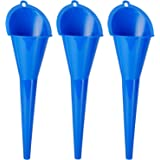 KarZone All Purpose Automotive Funnels - 3 Pack - Oil, Gas, Lubricants and Fluids