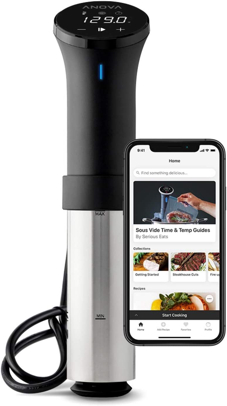 Anova Precision Cooker Wifi - Black (Renewed)