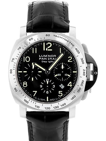 size 40 a55af 838aa Amazon | [パネライ] PANERAI 腕時計 PAM00196 H番 ルミノール ...
