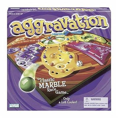 Milton Bradley Aggravation: Toys & Games