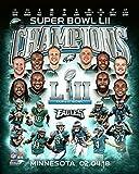 #10: Philadelphia Eagles Super Bowl 52 Champions Collage 8x10 Photo, Picture