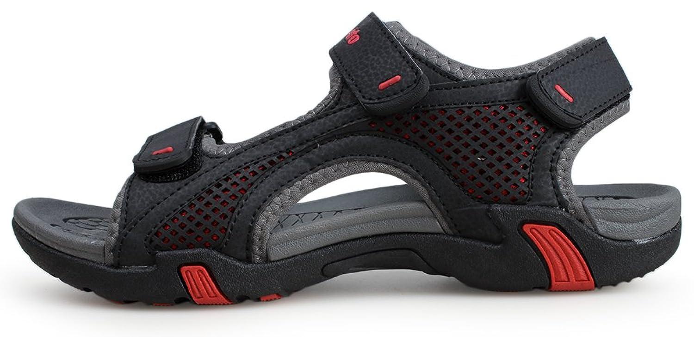 c26fec2581d025 Mua sản phẩm Kunsto Men s Synthetic Leather Open-Toe Sandal từ Mỹ ...