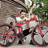 NJ508 Folding Mountain Bike 26in 21 Speed Bicycle