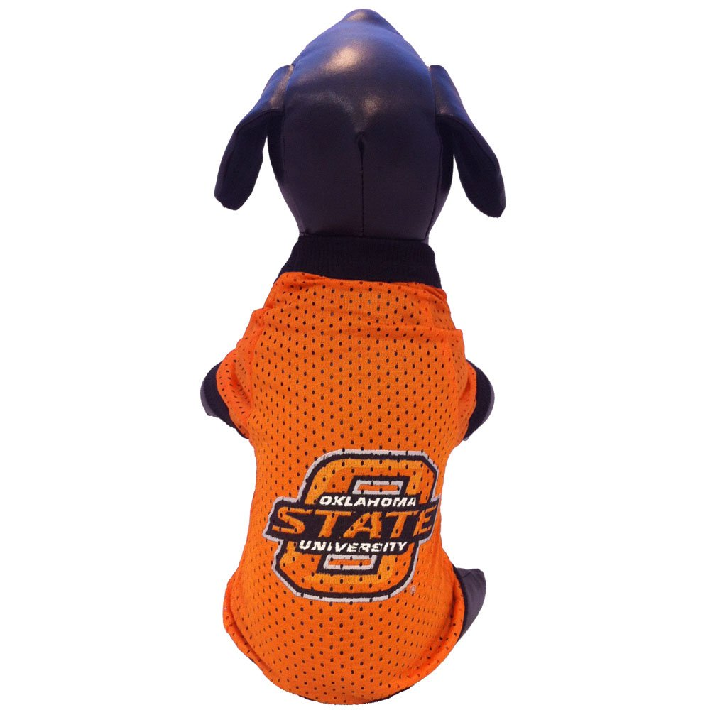All Star Dogs NCAA Oklahoma State Cowboys Collegiate Athletic Mesh Dog Jersey