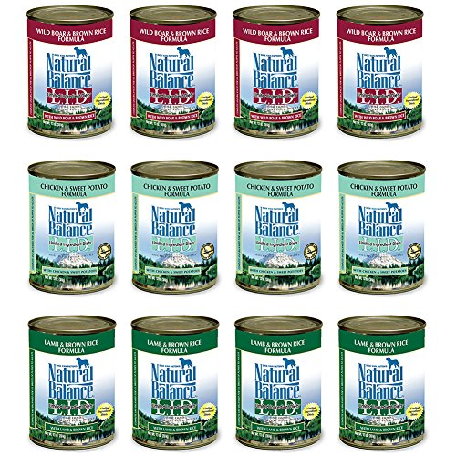 Natural Balance Dog Food Roll Duck Turkey Formula   Pound
