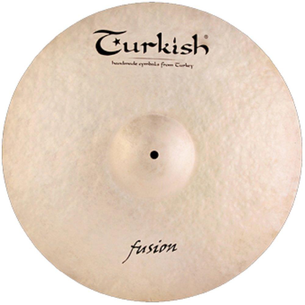 Turkish Cymbals Jazz Series 18-inch Fusion Crash / Ride Cymbal FS-CR18 by Turkish Cymbals