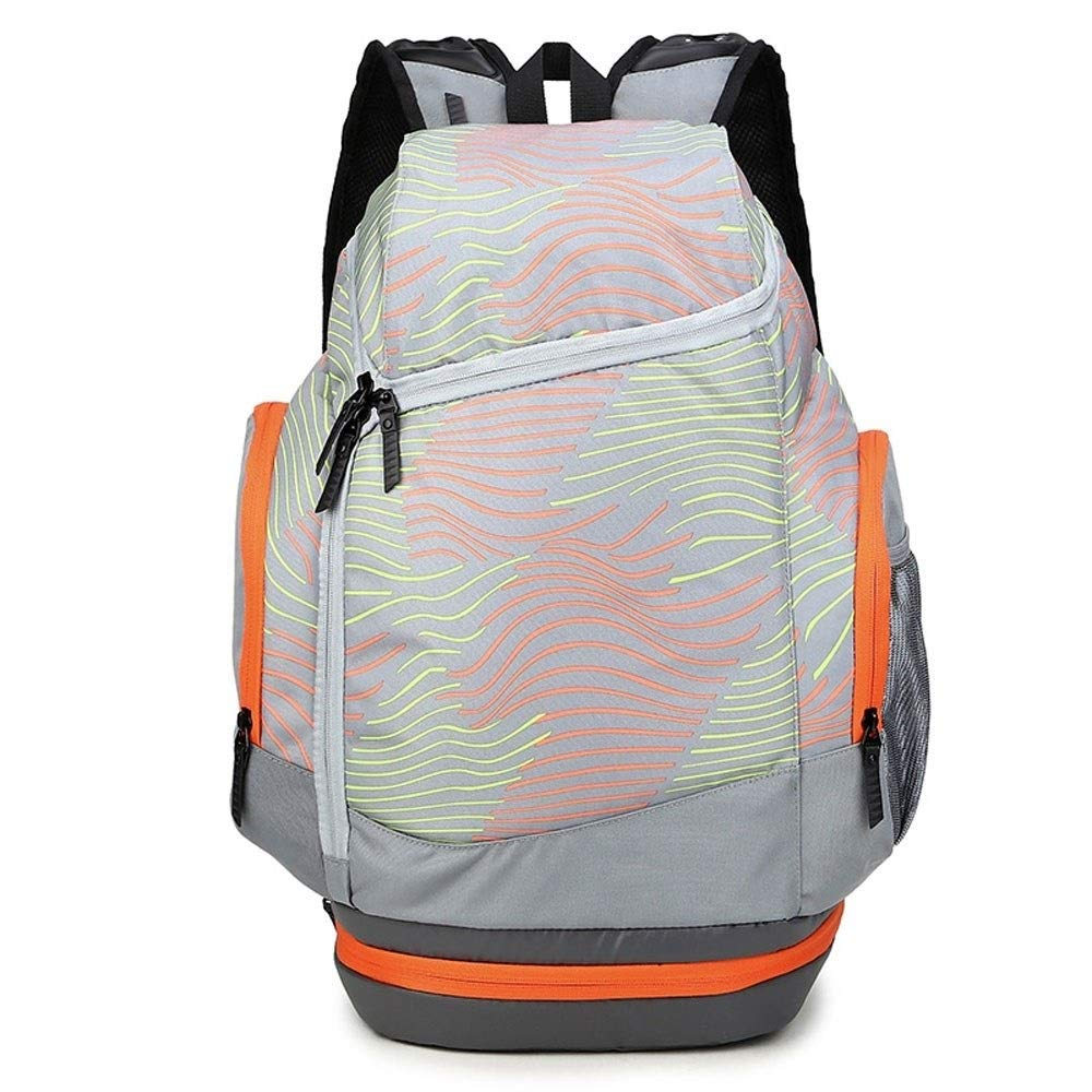 MYXMY Personality Bucket Large Capacity Backpack Men and Women Fashion Trend Outdoor Leisure Sports Travel Fitness Basketball Bag Large Capacity Backpack,30L