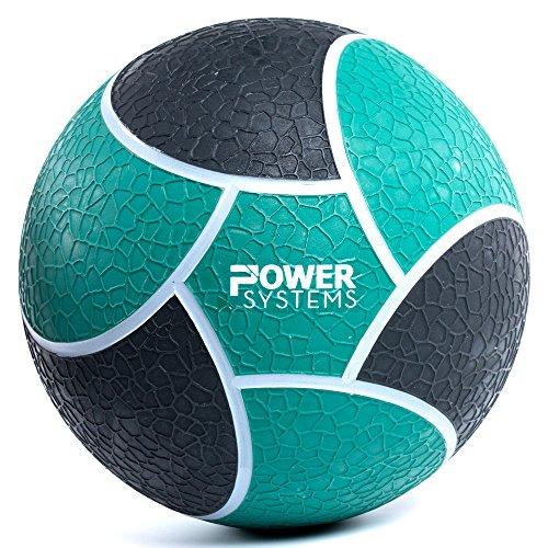 Power Systems Elite Power Medicine Ball, 4 Pounds, 8 Inch Diameter, Green (25204)