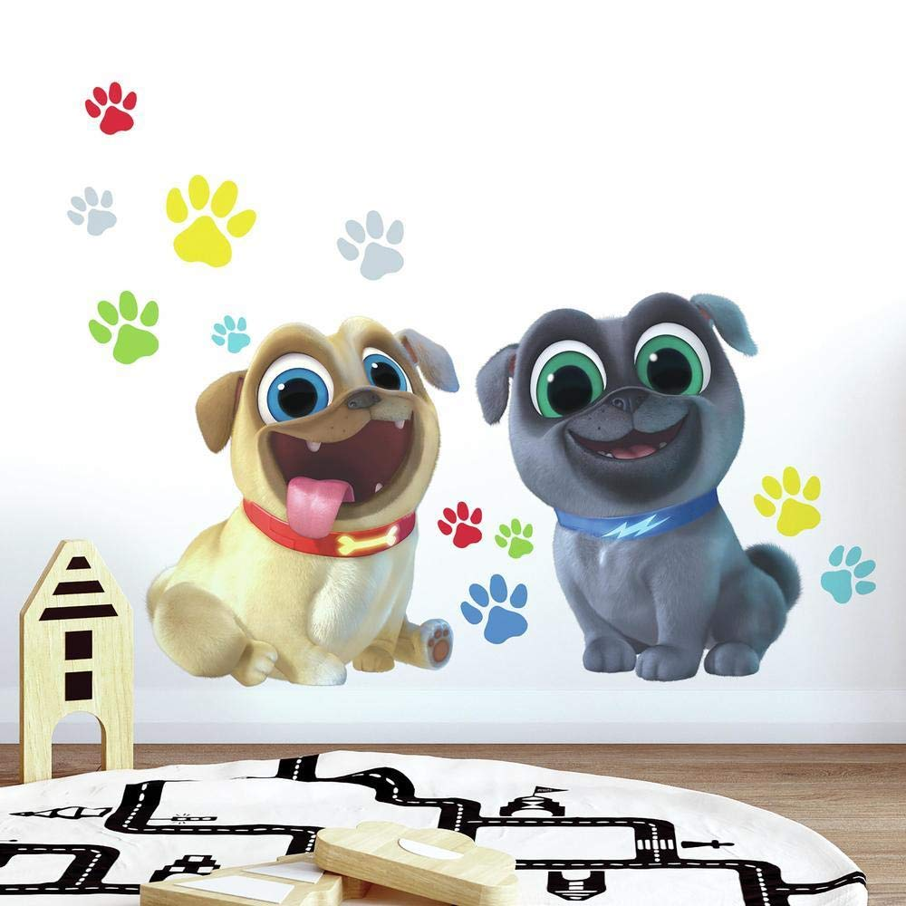 RoomMates Puppy Dog Pals Peel and Stick Giant Wall Decals