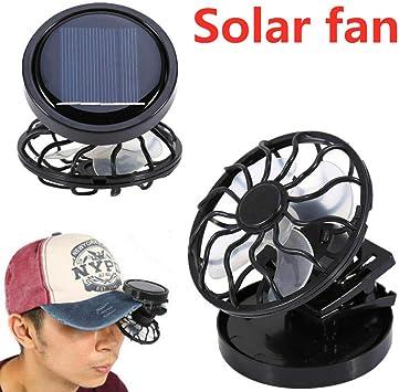 Leoie Clip-on Hat Mini Clip Solar Sun Energy Power Panel Cell ...